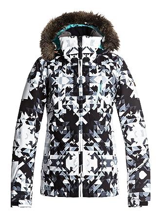 Roxy Jet Ski Premium Jk Chaqueta para Nieve, Mujer