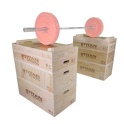Amazon.com : titan wood jerk & clean block set : sports & outdoors
