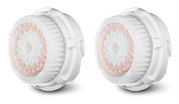 Muzott Radiance replacement Brush Heads For Clarisonic MIA 1,2, Aria Pro Plus  2 pack Origins - Dr. Andrew Mega-Mushroom Skin Relief Face Mask - 100ml/3.4oz