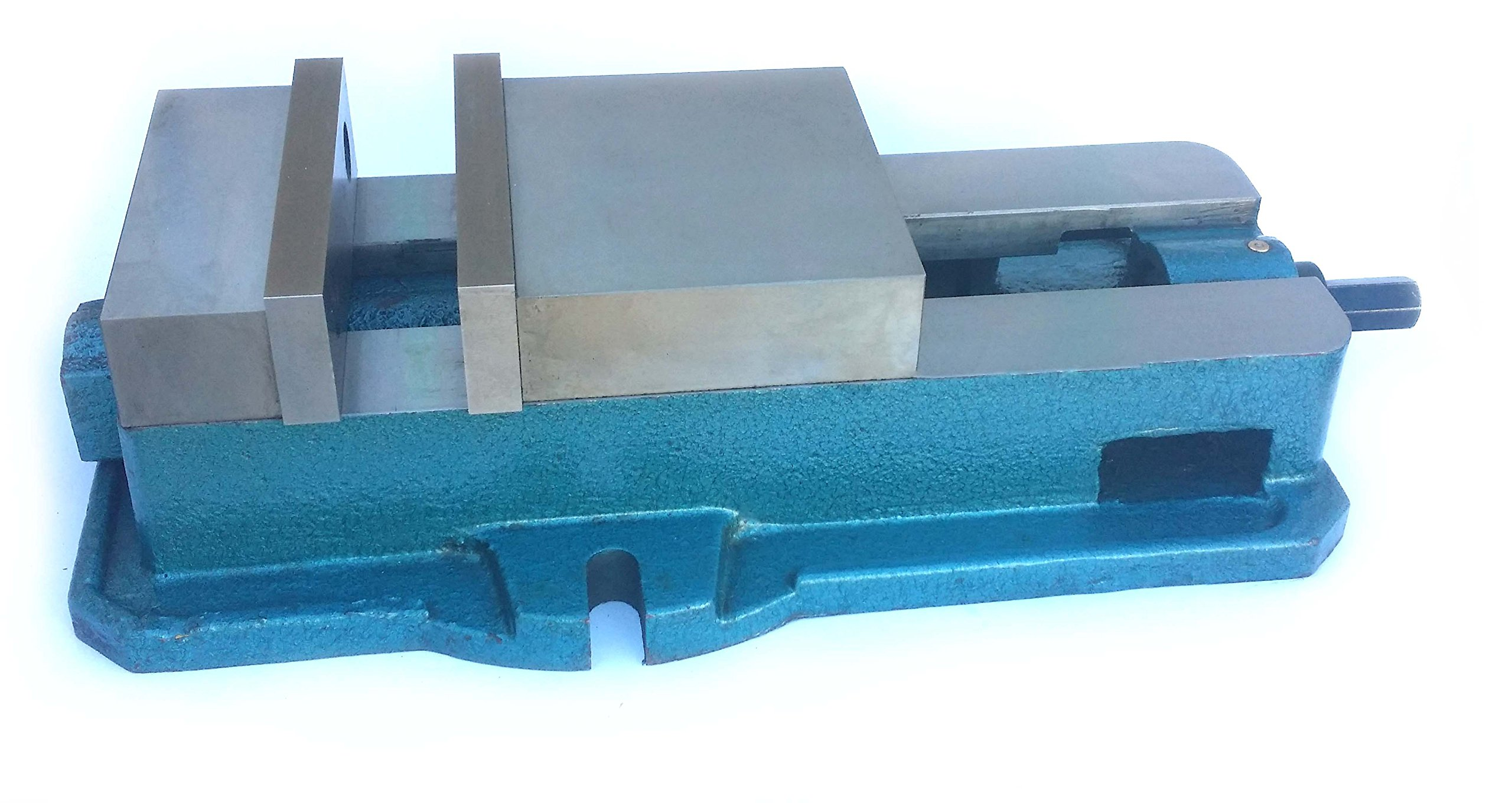 HHIP 3900-2206 Ultra Series Angle Tight, Positive Lock Milling Vise without Swivel Base, 6'' Width x 1.95'' Depth Jaw, 7.5'' Jaw Opening (Pack of 1)