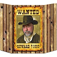 Beistle 57981 Wanted Poster Decorative Photo Prop, 3-Feet 1-Inch by 25-Inch
