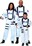 Disfraz astronauta blanco adulto - L