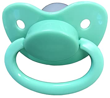 Adult sized pacifier Mint Green