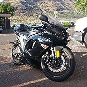 Kapsco Moto Lowering Links Black Motorcycle Sportbike Link Kit For 2003-2012 Kawasaki ZX-6R ZX600
