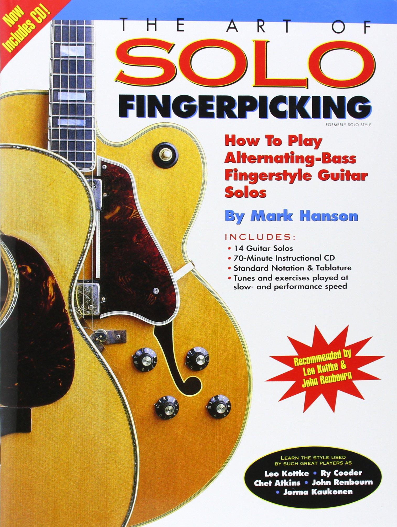 Mark Hanson: The Art Of Solo Fingerpicking Guitar Books: Amazon.es ...