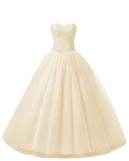 9af4e21450 Beautyprom Women's Ball Gown Bridal Wedding Dresses