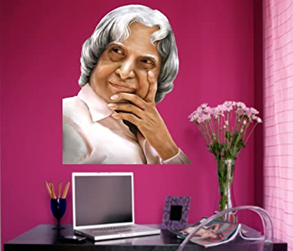 Buy Happy Walls Dr APJ Abdul Kalam Wall Sticker Legendary Wall
