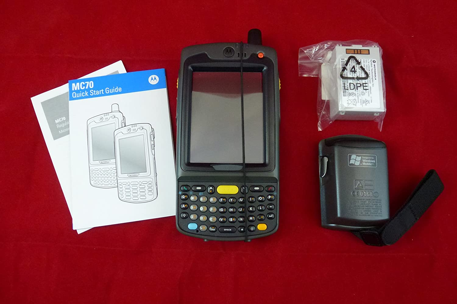 Motorola MC7094 GSM Cellular eGPRS WLAN802.11a b g Wi FiTM Qwerty Bluetooth MC7094 P2CDJQHAAWR