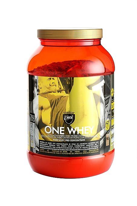 One Whey (2,268 Gr) 5 Lbs Milk Caramel - Matriz de Proteínas con Velocidad