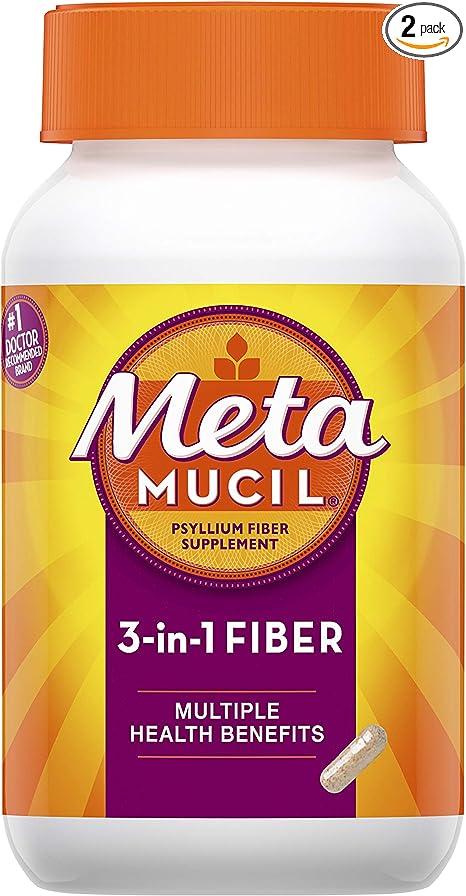 does metamucil help u lose weight