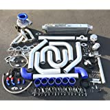 For Mitsubishi DSM 4G63 Engine High Performance 15pcs T04E Turbo Upgrade Installation Kit