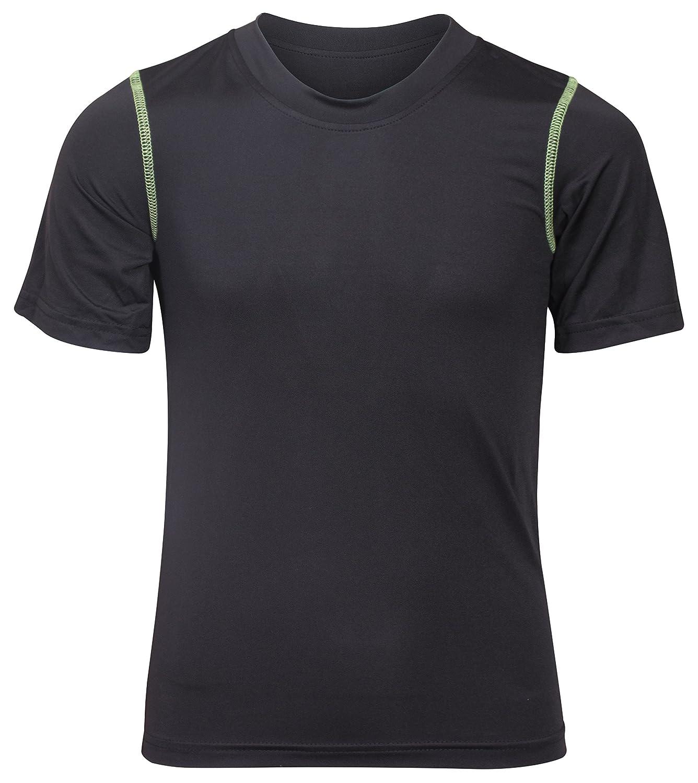 0c9044d5e7f5 Amazon.com  Black Bear Boys  Performance Dry-Fit T-Shirts (Pack of 2 ...