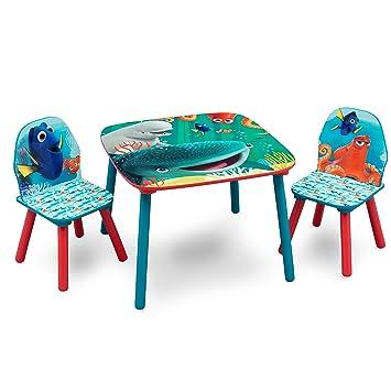 Delta TT89538FD Finding Dory Kleiner Tisch und Stühle, Belastbarkeit ...