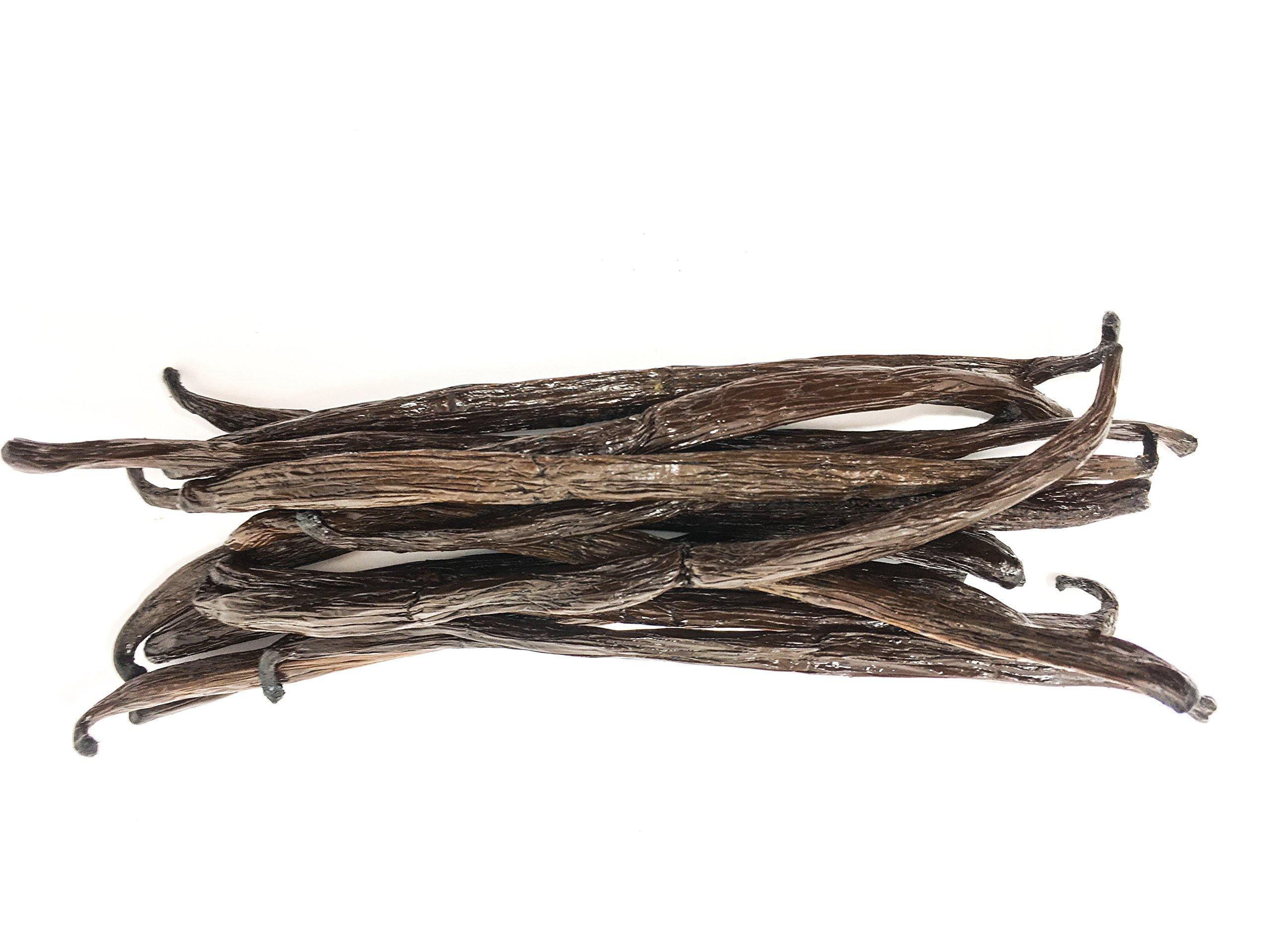 Madagascar Bourbon Vanilla Beans (Vanilla Planifolia) by Slofoodgroup (.25 lb/4 oz vanilla beans)