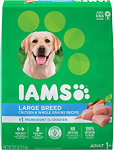 Iams Large Breed Adult Dry Dog Food, Chicken & Lamb