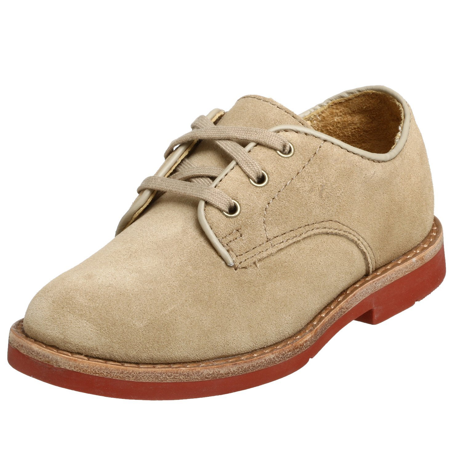 Polo by Ralph Lauren Barton Oxford (Toddler/Little Kid/Big Kid),Dirty Buck Suede,7.5 M US Toddler