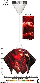 product image for Jezebel Signature JRWH-FP16-AZA White Flame Pendant, Large, Azalea