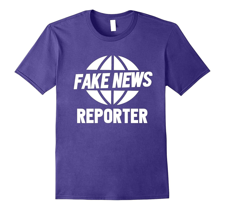 Fake News Reporter Funny Halloween Costume #fakenews-ANZ