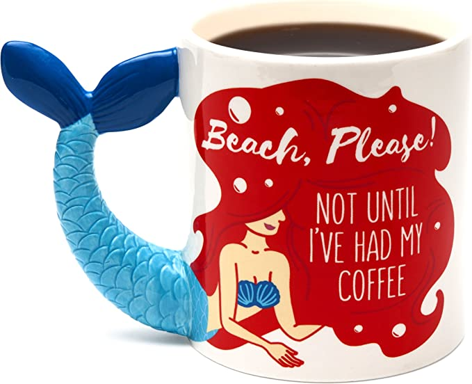 Drowning Worms Im A Women I Fish Deal With It Giant Gift Large Mug NOVELTY Mug