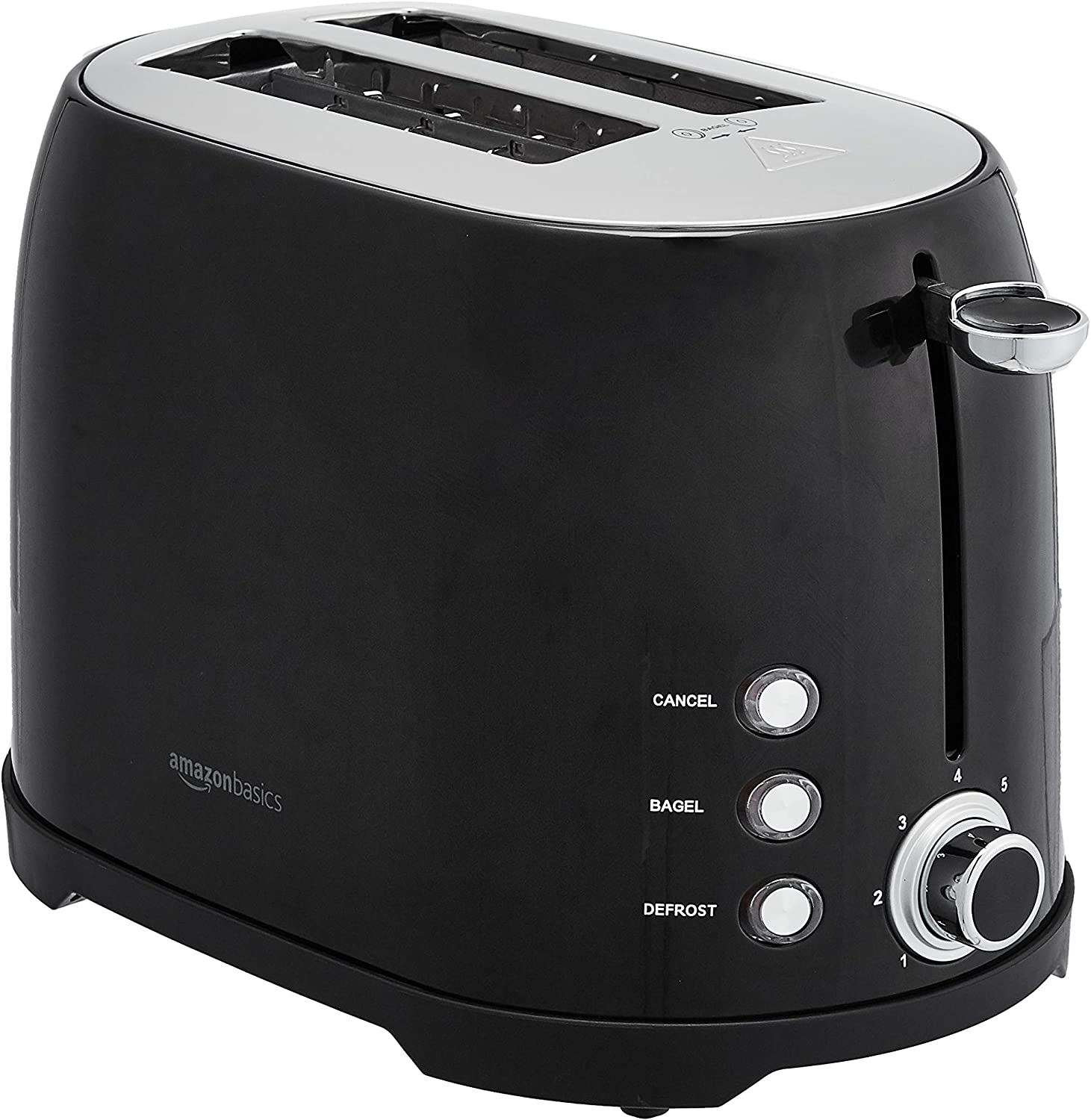 AmazonBasics 2-Slot Toaster, Black