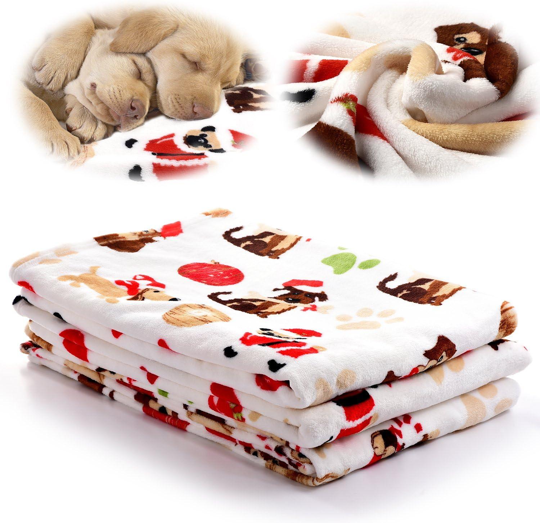 Soft Pet Blanket Pet Crate or Bed Blanket Fleece Pet Blanket