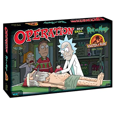 Operation: Rick and Morty Anatomy Park Special Edition | Based On The Hit Adult Swim Series Rick & Morty | Offically Licensed Rick and Morty Merchandise | Based on The Classic Operation Game