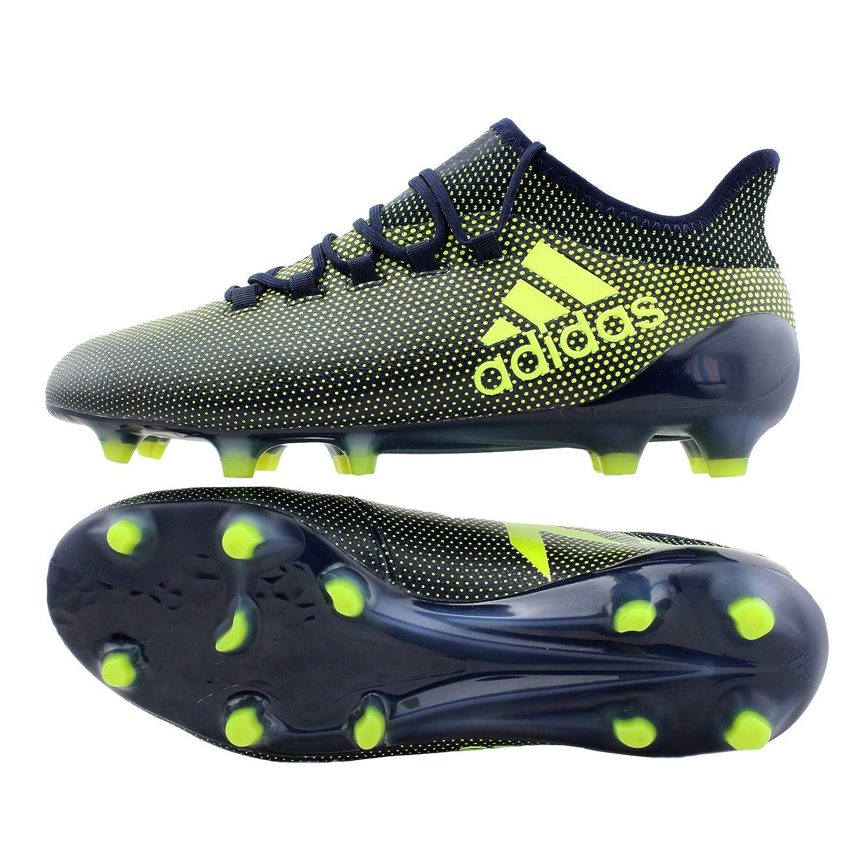 save off 999b4 40297 ADIDAS X17.1 FG - UK 8, LEGINK/SYELLOW/LEGINK: Amazon.co.uk: Sports &  Outdoors