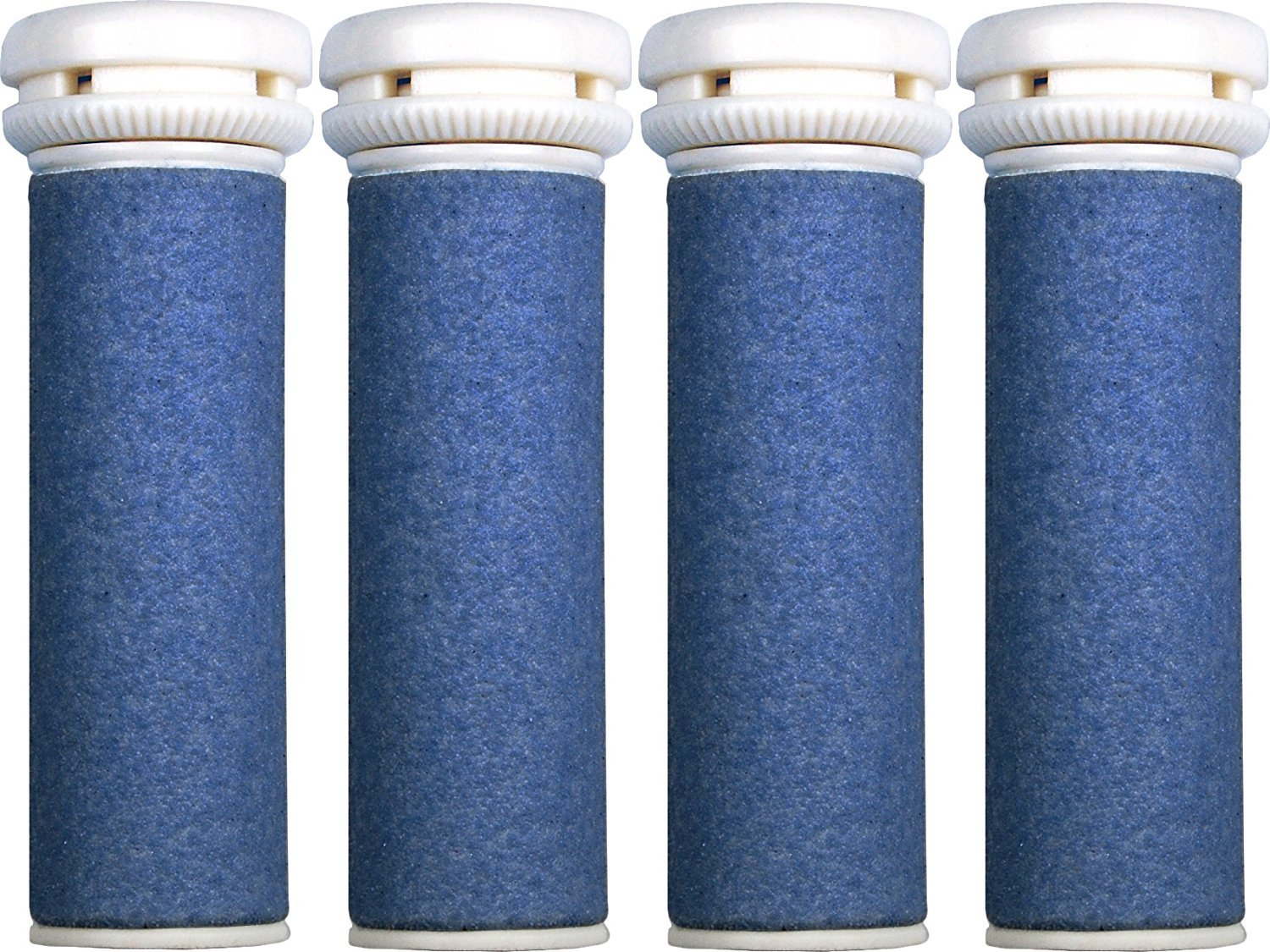 4 x Scholl Express Pedi Compatible Refill Extra Coarse Replacement Rollers HealthCenter