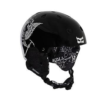 Kali Protectives Maula Pow - Casco de esquí/snowboard negro ...