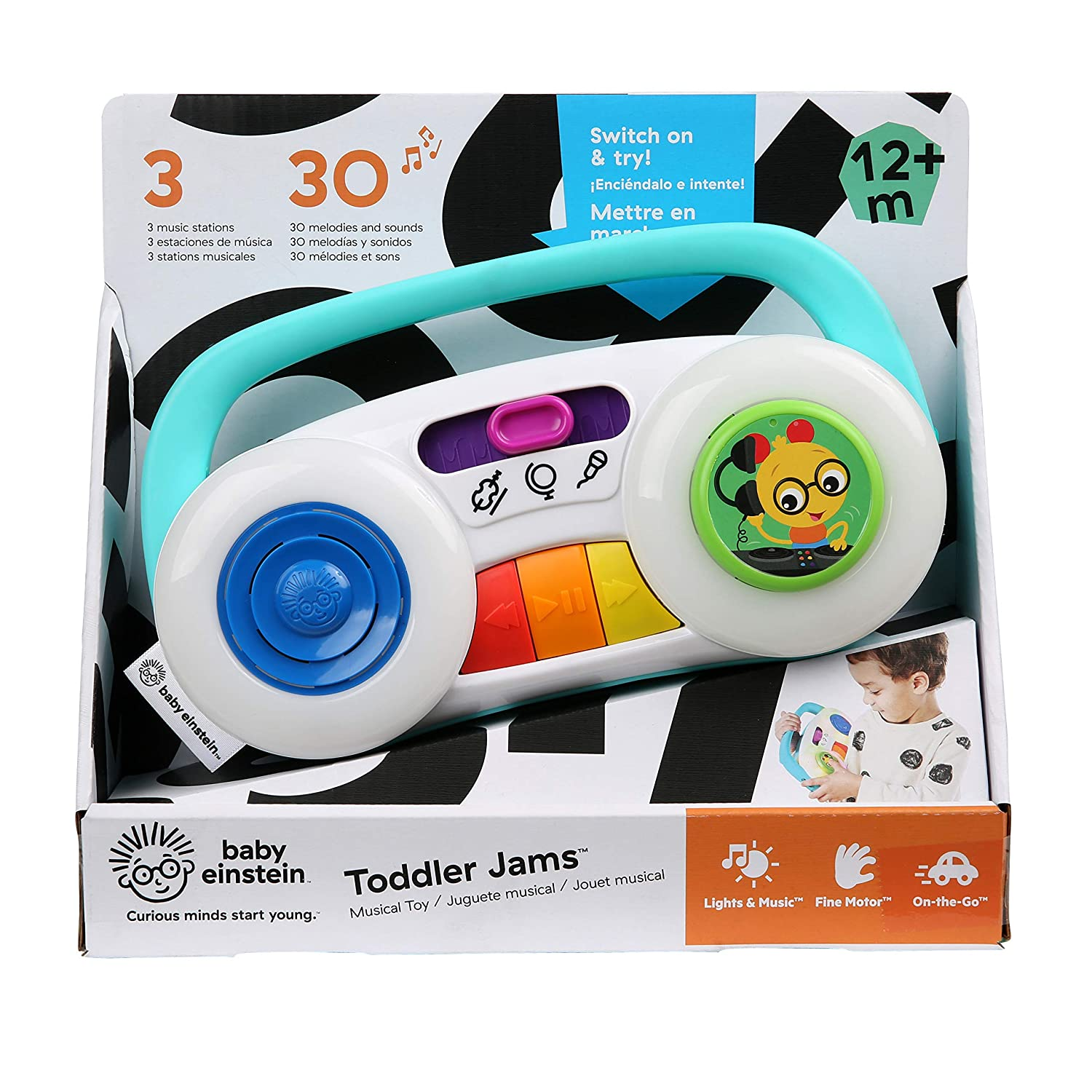 Baby Einstein Toddler Jams Musical Toy 12 Months