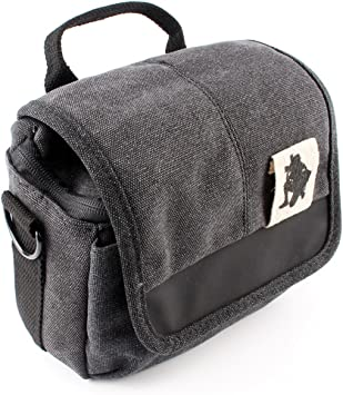 Amazon Com Zdmoon Camera Bag Case Canvas Bag For Sony A6000 A5000 Nex 6 Nex 7 Nex 3n 5n 5nt 5r 5c F3 C3 Dsc Hx200v Dsc H200 Rx100 Black Electronics