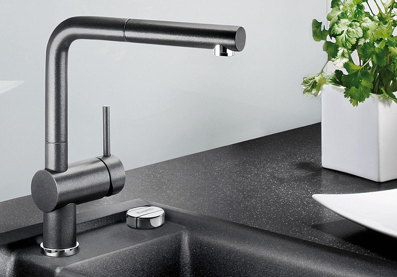 Blanco Linus S Vario Kitchen Tap Metallic Surface Chrome High Pressure,  516688: Amazon.co.uk: DIY U0026 Tools