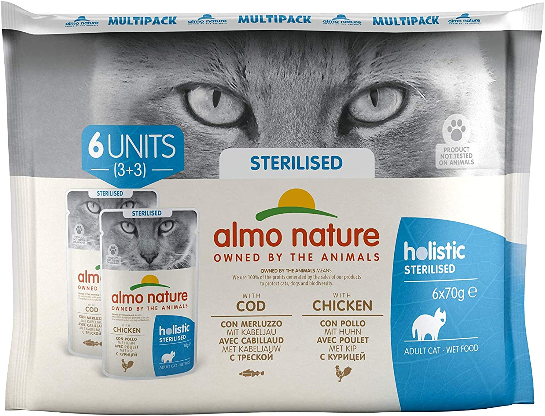 almo nature - Mutipack para Gatos (6 x 70 g)