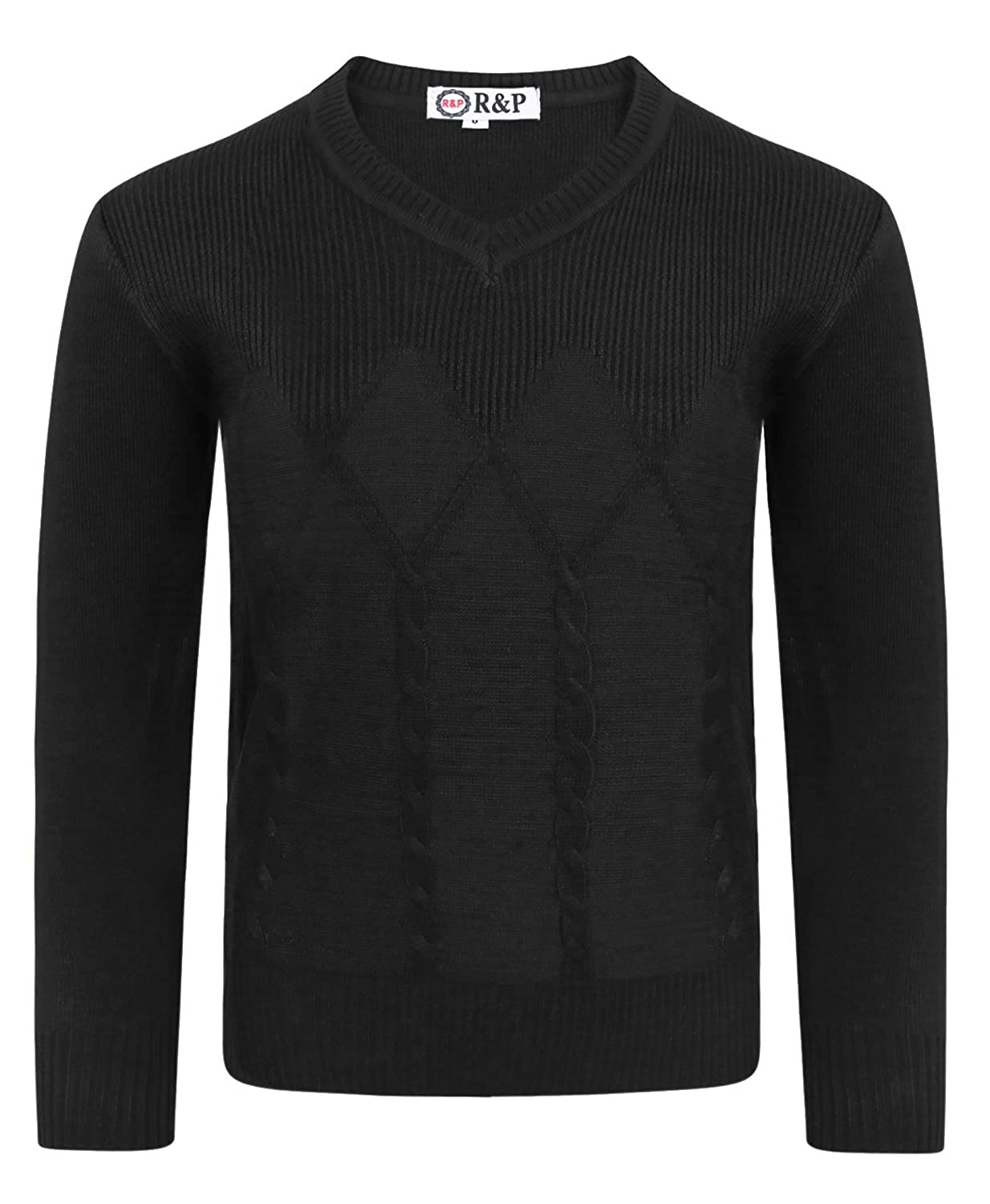 LotMart Boys Pullover Jumper Cable Knitted