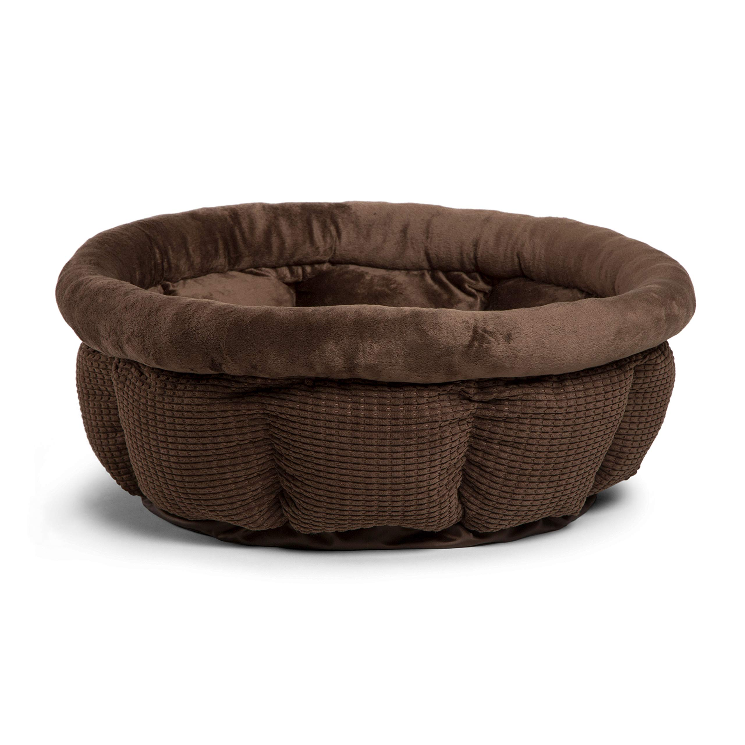 Best Friends by Sheri Jumbo Cup in Mason Dog Bed/Cat Bed, Dark Chocolate, Jumbo by Best Friends by Sheri