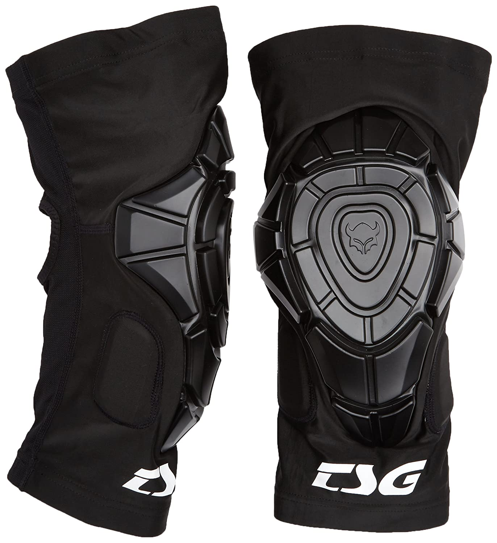 TSG 膝スリーブ|洗える、スリップオン、膝関節スリーブ|軽量、薄型のソフトシェル保護|最大限の柔軟性 S / M 黒 B06XCZZNMM