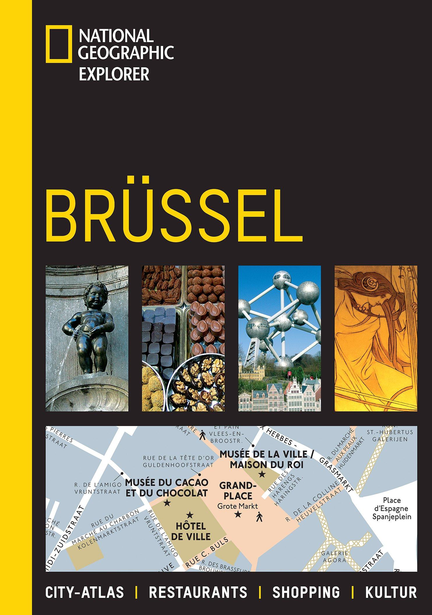 National Geographic Explorer Brüssel Taschenbuch – 1. Februar 2011 3866902034 NU-LBR-00885357 Europa physisch