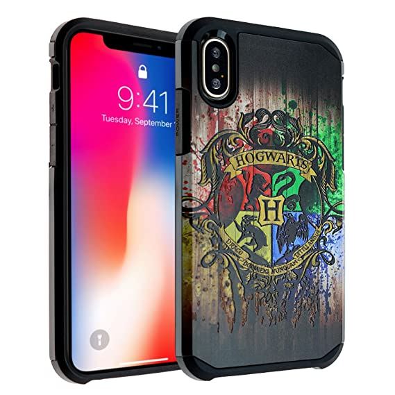 brand new bedac 389bb iPhone X Case, DURARMOR Harry Potter Hogwarts Houses Dual Layer Hybrid  ShockProof Ultra Slim Fit Armor Air Cushion Defender Protector Cover for  iPhone ...