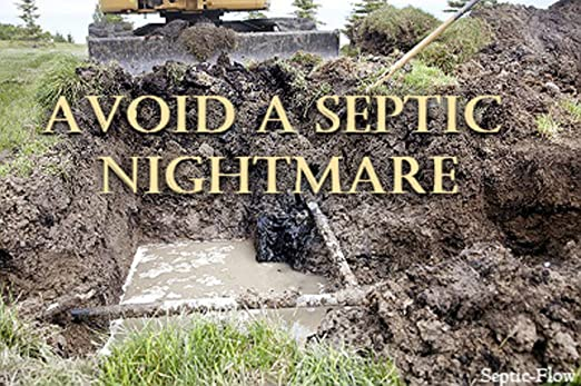 Septic-Flow | Septic System Shock Repair- Unclogs Drainfields, Dissolves  Deadpan and
