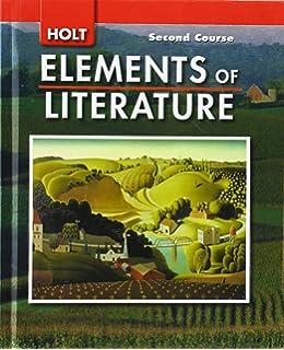 Elements of Literature: 1st Course, Grade 7: Holt
