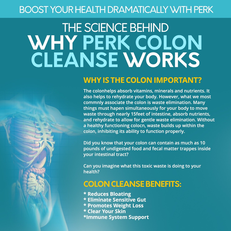 Amazon Super Colon Cleanse Detox By Perk 110 Money Back