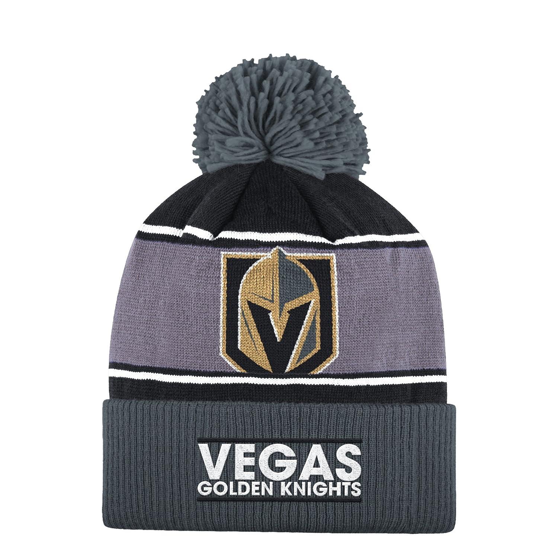 3aacf84fd adidas NHL Vegas Golden Knights Cuffed Pom Knit, OSFA