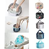 Premium Collapsible Bucket Compact Portable Folding Water Container Multifunctional Collapsible Portable Travel Outdoor Wash Basin Folding Bucket For Camping Hiking Travelling Fishing