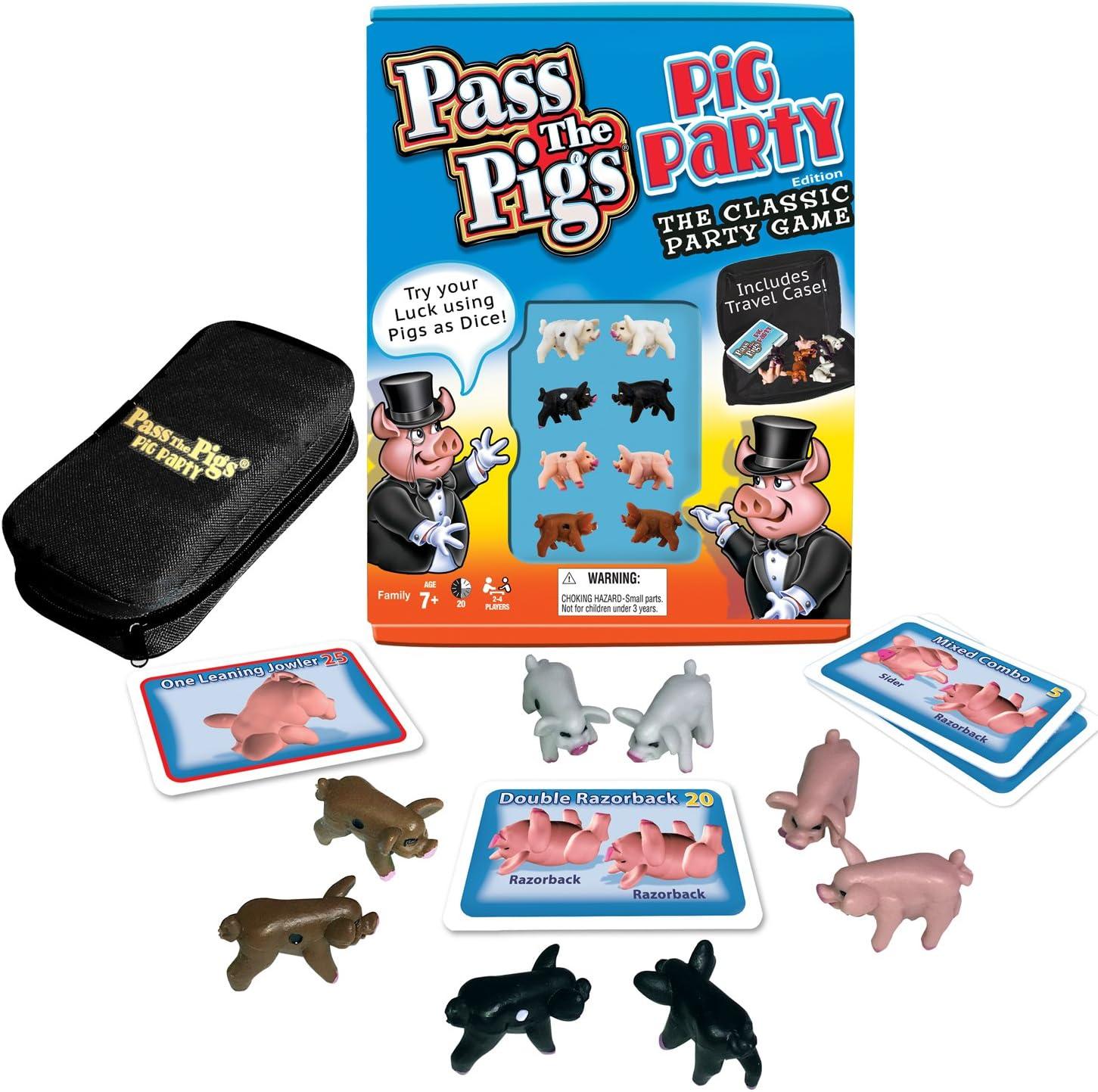 Pass the pigs cochon party edition pour 7 ans et