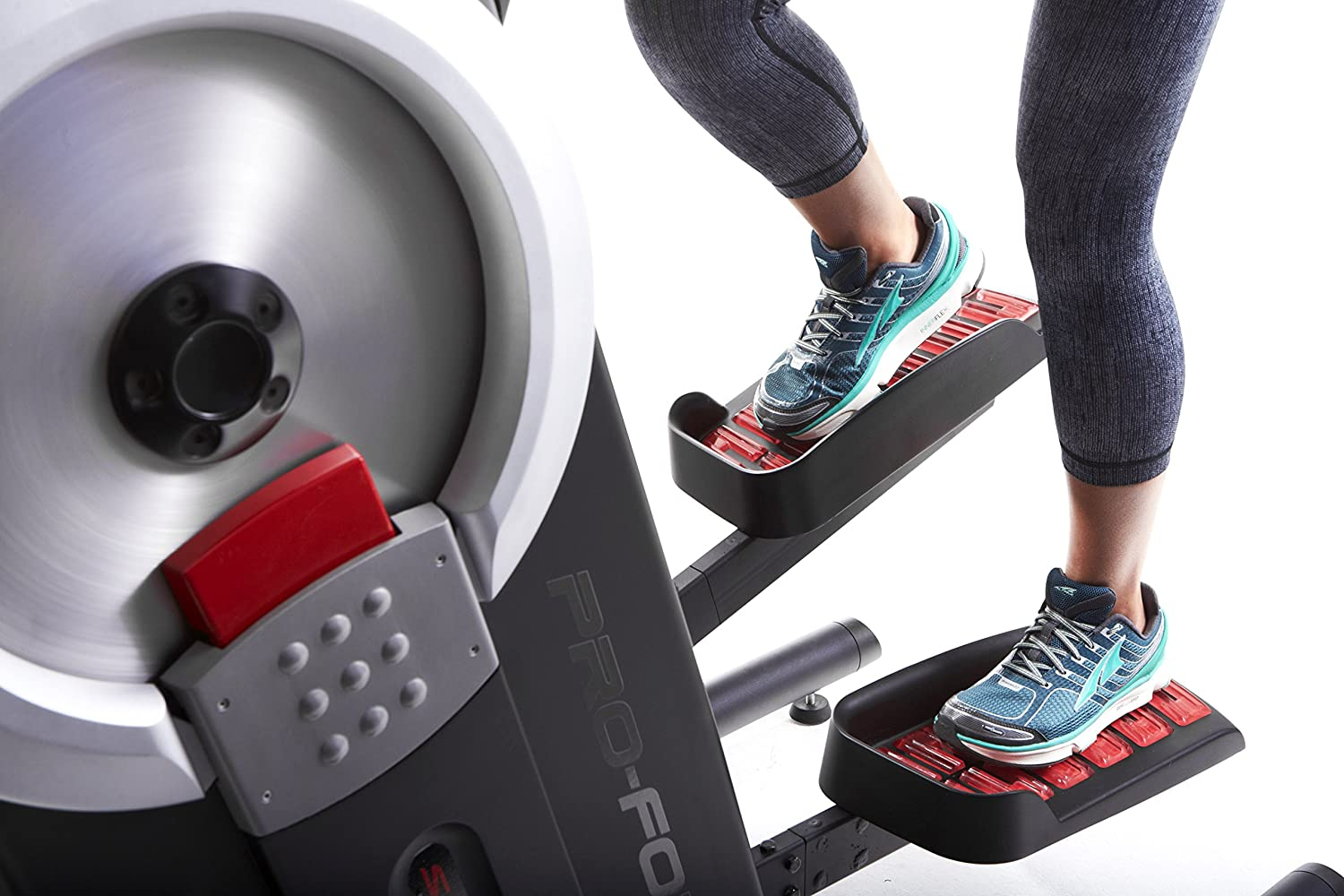 What muscles does the elliptical work?