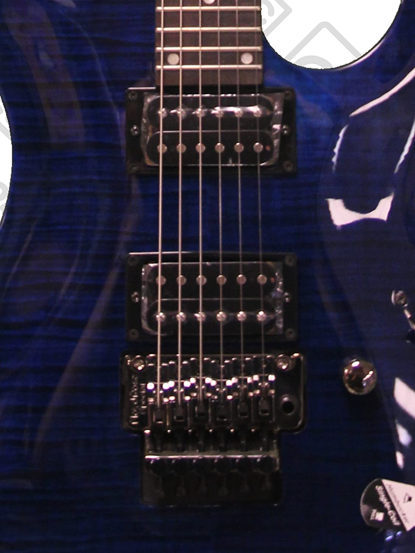 Amazon.com: Dean C350F TBL PACK Electric Guitar, Floyd Rose Trans Blue, Bundle: Musical Instruments