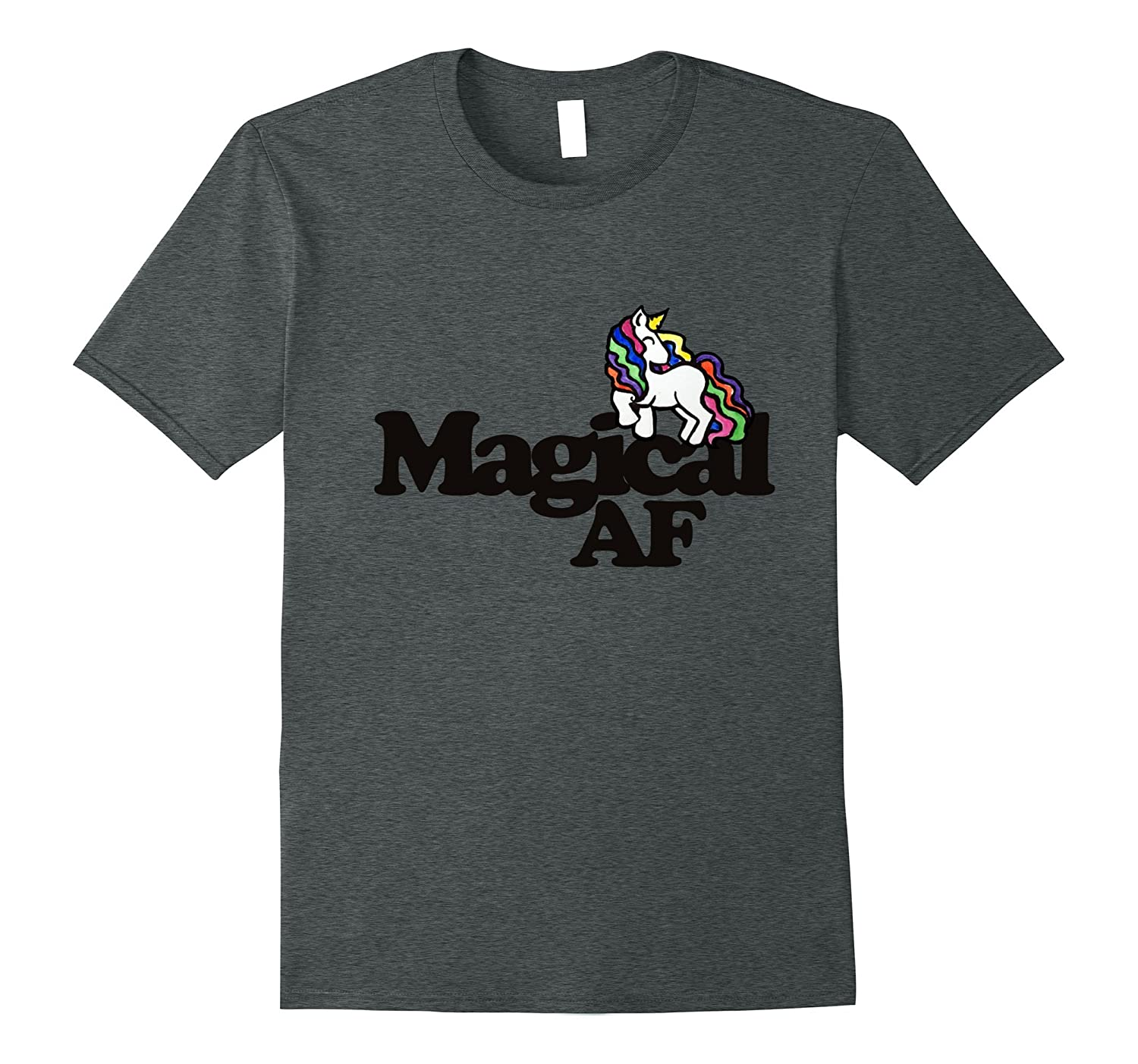 Magical AF t-shirt magic unicorn tee shirt unicorns t shirts-FL