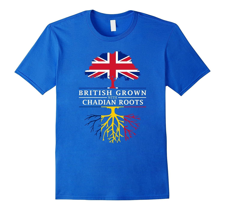 British Grown with Chadian Roots T-Shirt - Chad Shirt-CD