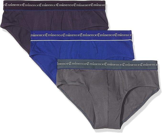 Lot de 3 slips homme Trio Select Eminence en violet pour