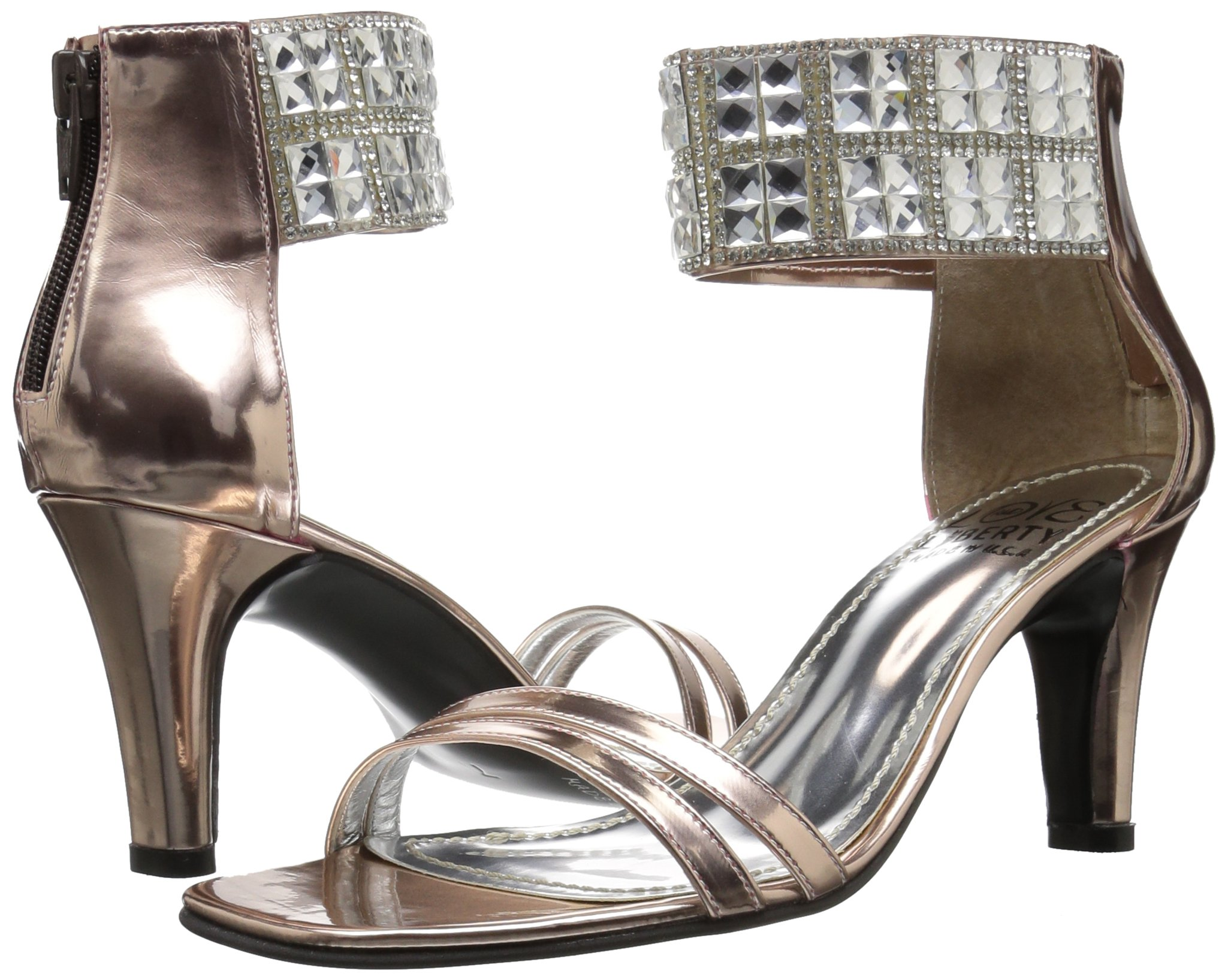 Love & Liberty Women's Scarlett-Ll Dress Sandal, Rose Gold, 9 M US by Love & Liberty (Image #6)